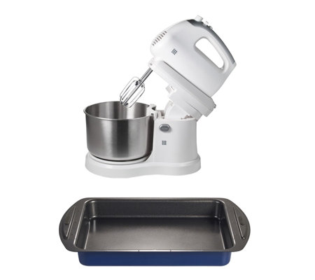 Lakeland 2 in 1 Hand & Stand Mixer with Brownie Tin
