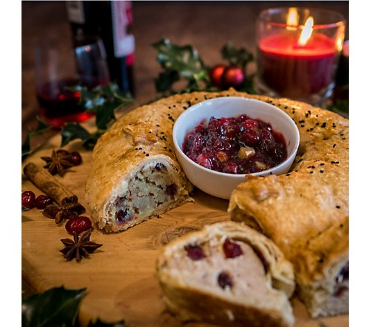 Toppings Pies Set of 2 650g Gourmet Sausage Roll Wreaths