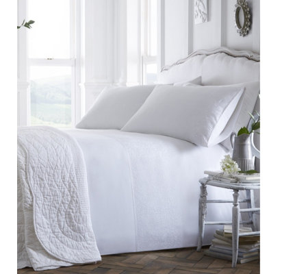 Jeff Banks Pour La Maison Monet Duvet Set White