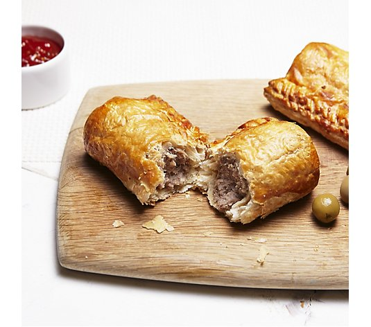 The Real Pie Company 12 Piece Sausage Roll Selection