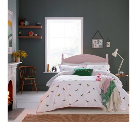 Joules Great British Birds 3 Piece Duvet Set