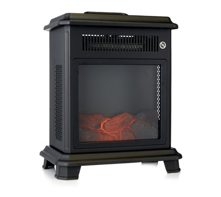 PowerHeat Portable Stove Heater with Handle & Side Viewing