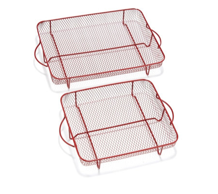 Cook's Essentials Square & Rectangular Crisper Trays