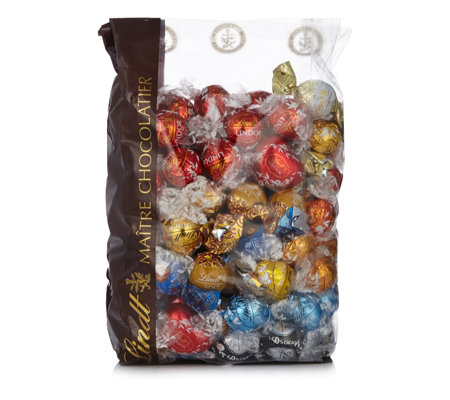 Lindt 15kg Bag Of Assorted Lindor Truffles Qvc Uk