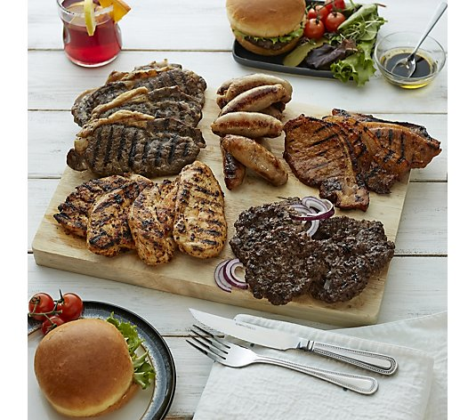 Althams Butchers 2.5kg 30 Piece Summer BBQ British Meat Selection