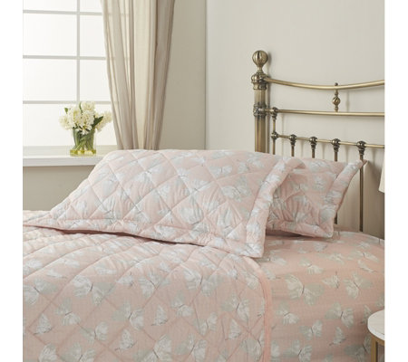 Cozee Home Evelyn Set Of 2 Quilted Shams Qvc Uk