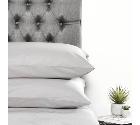 Northern Nights 300TC 100% Cotton Cool & Crisp Standard Pillowcase Pair