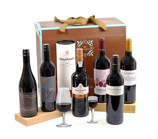 Vintners 6 Bottle Case of Assorted Red Wine
