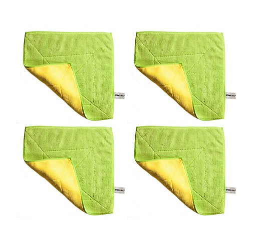 Kochblume Set of 4 Extra Thick Microfibre Cloths