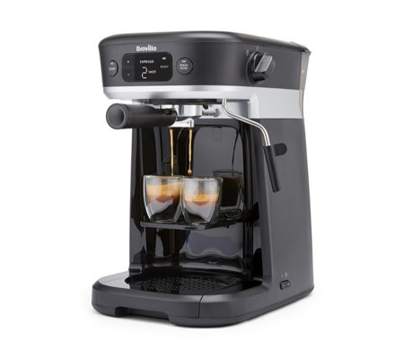 Breville All In One Coffee Machine With Milk Frother Qvc Uk