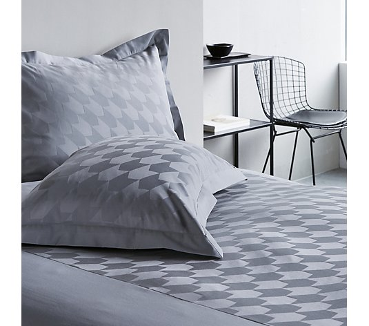 K by Kelly Hoppen 100% Cotton 3 Piece Jacquard Duvet Set