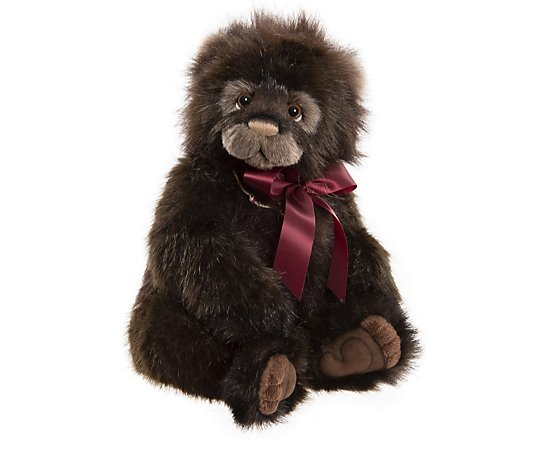 "Charlie Bears Collectable Kodiak Bear 14.5"" Plush Bear"