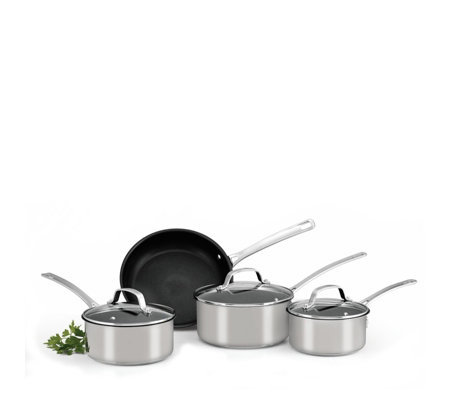 Circulon Genesis 4 Piece Stainless Steel Cookware Set