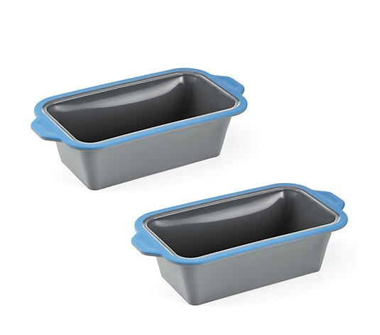 Cook's Essentials Set of 2 Silicone Baking Pans