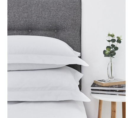 Northern Nights 500TC Egyptian Cotton Oxford Pillowcase Pair