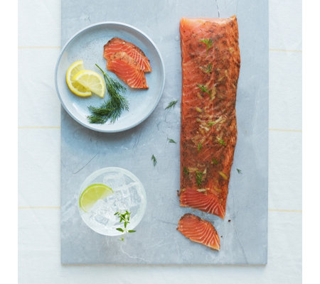 H Forman & Son 400g Gin & Tonic Cured Royal Fillet of Smoked Salmon
