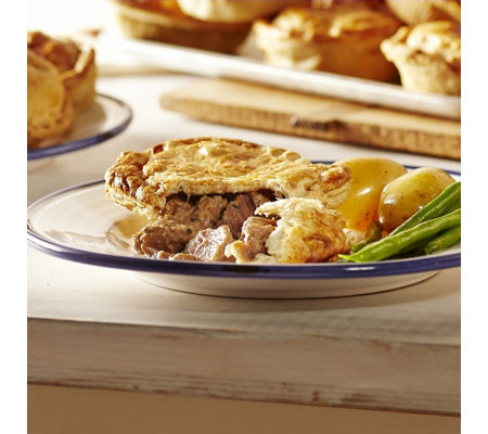 The Real Pie Company 10 Piece Steak Lovers Pie Selection
