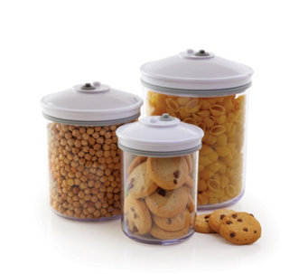 FoodSaver Set of 3 Vaccum Sealing Canisters - 805786