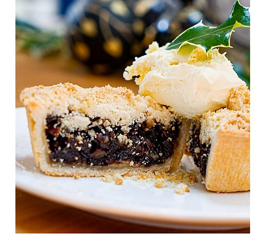 The Real Pie Company 6 Piece Mince Pie Crumbles