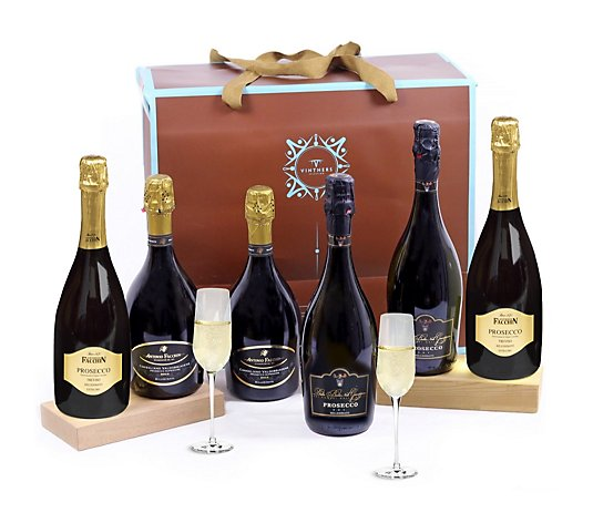 Vintners 6 Bottle Case of Assorted Prosecco