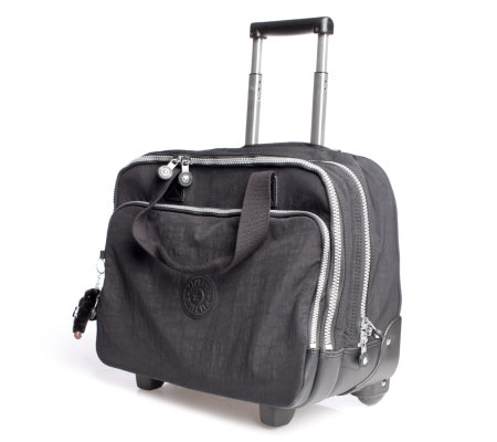 eb7bcb6e26a Kipling Ceroc Wheeled Working Bag with Laptop Protection - QVC UK
