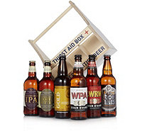 Best of British Beer 6 Craft Beer Bottles with Thirst Aid Box - 806892