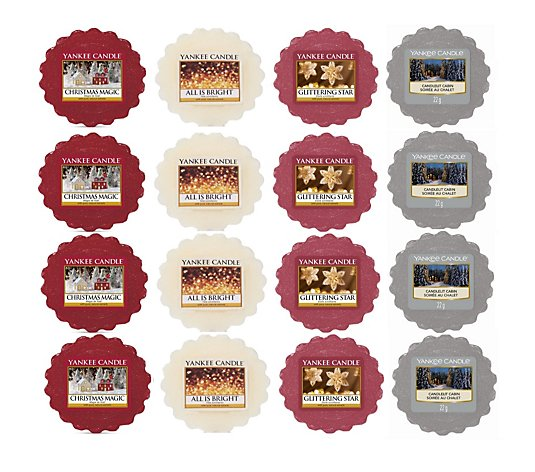 Yankee Candle  16 Piece Hard to Find Wax Melt Collection