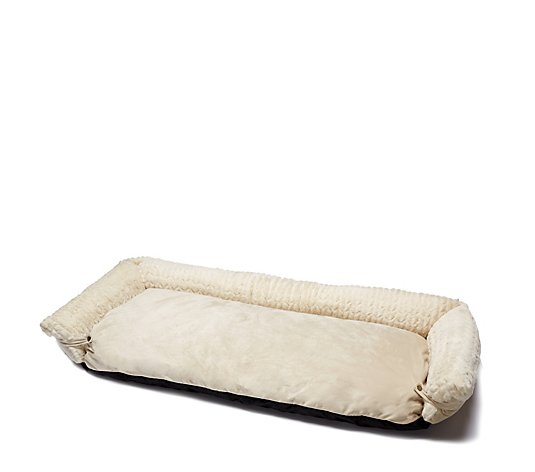 Cozee Home Roll Up Front Sofa Pet Bed