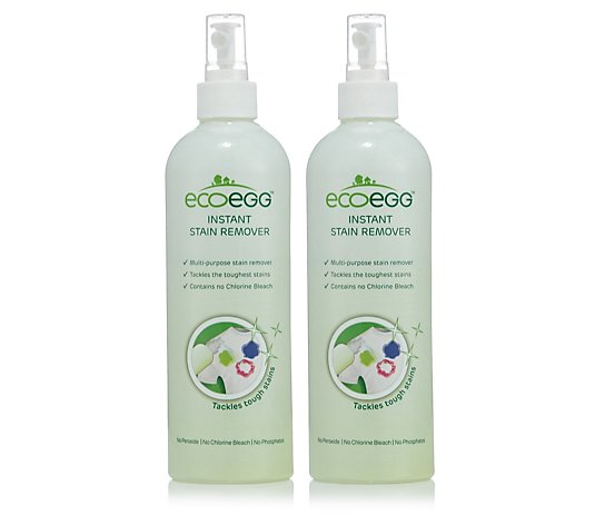 Ecoegg 2 x 480ml Instant Stain Remover Spray