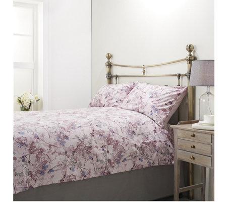 Supersoft by Cozee Home Brushed Ava Floral 3 Piece Duvet Set