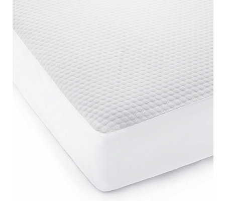 Copper Infused Water Resistant Mattress Protector Qvc Uk