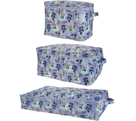 The Camouflage Company S/3 Zippered Storage Collection