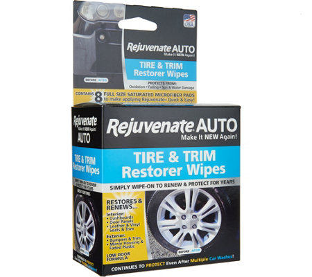 Rejuvenate Auto Set Of 8 Restorer Wipes