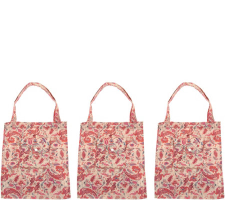 The Camouflage Company Set of 3 Large Multi-Purpose Cam' Shoppers