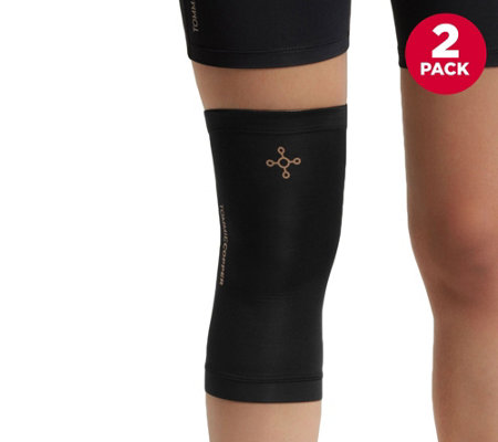 Tommie Copper Core Compression Set of 2 Knee Sleeves