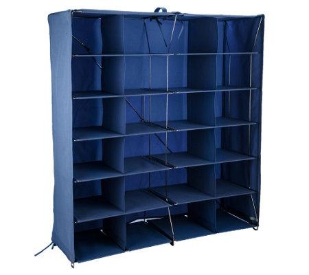 Pop It Collapsible 24 Qube Organization Storage System