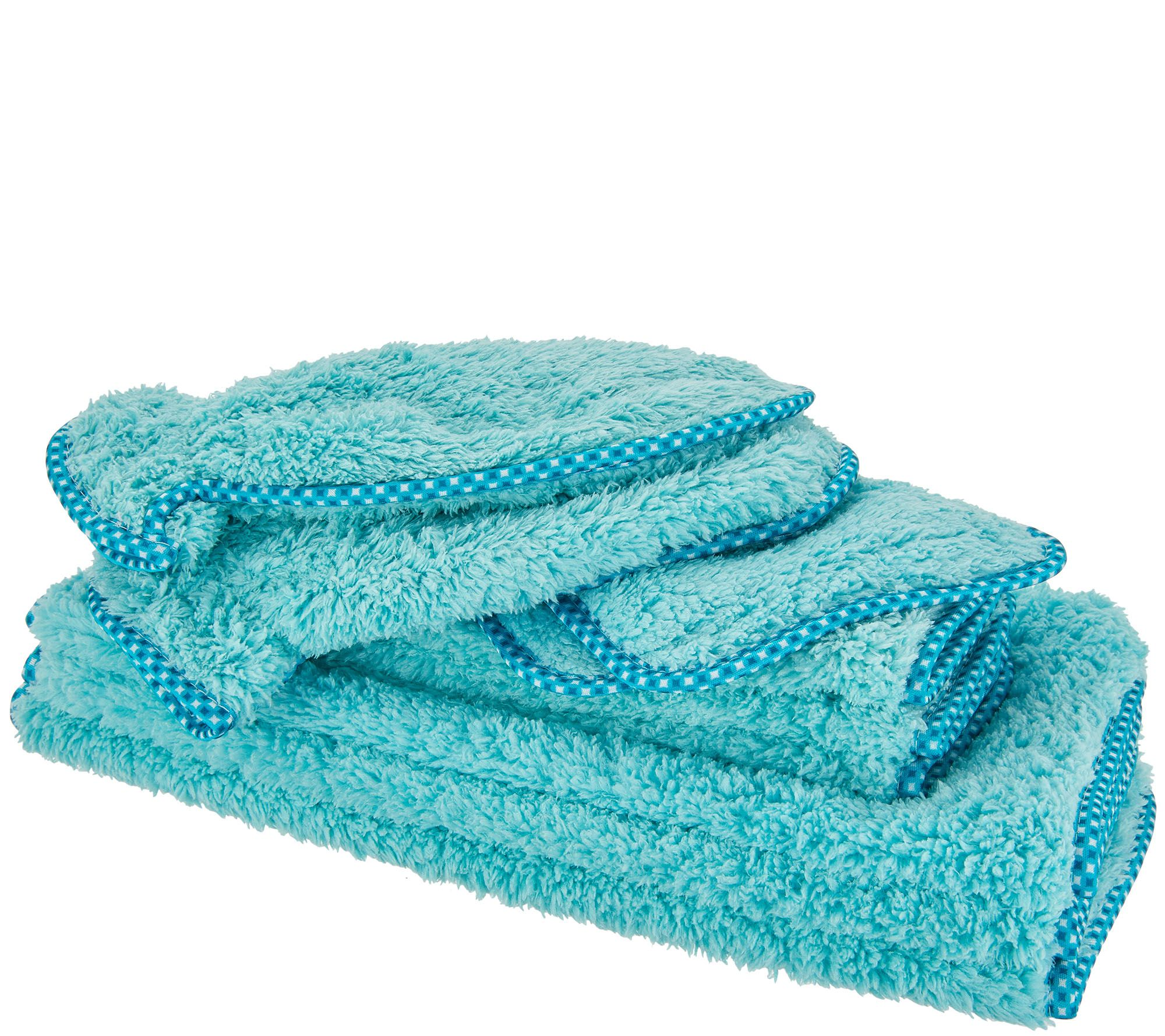 Gentle Super Soft Electronics Plush Cleaning Cloths for Makeup Removal Cars and More Dusting Green Campanellis PuppyFur Microfiber Towels Machine Washable and Dryer Safe 10-Piece Set