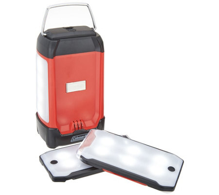Coleman Rechargeable Duo Pro LED Lantern w/ 2 Magnetic Panels