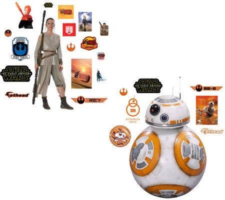 Star Wars FatHead Big and Junior Wall Decal Combo Pack