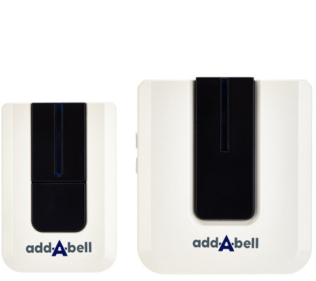 Add-A-Bell Wireless Plug In Door Bell with 50 Sounds/tunes