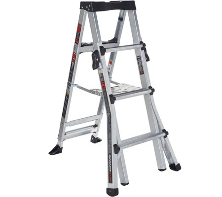 Little Giant SmartStep Multi-Purpose 6-in-1 Step Ladder