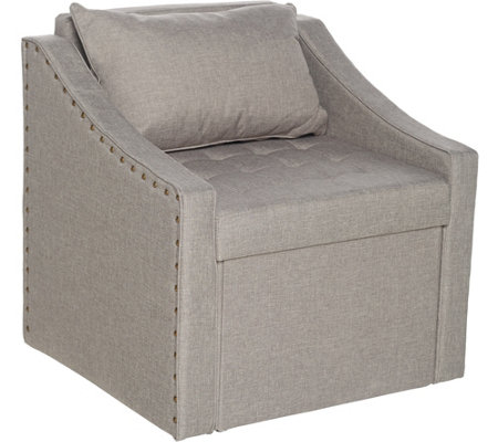 Fresh Home Elements Accent Chair with Storage Seat