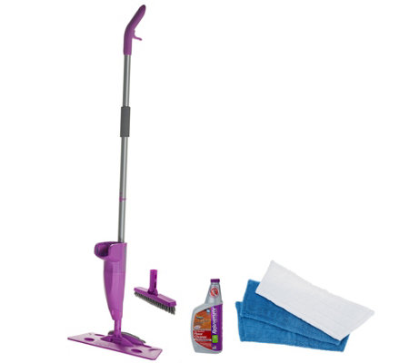 Rejuvenate Click N Clean All Surface Microfiber Mop Cleaning System