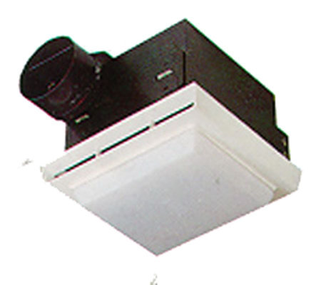 Attirant Nautilus Bathroom Fan/Light Combination Unit  White