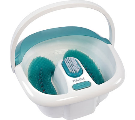 HoMedics Bubble Spa Elite Foot Bath with Heat Boost Power