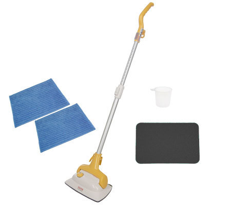 Haan floor steam cleaner reviews meze blog for Steam mop concrete floors