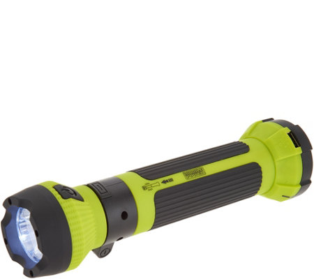 MobilePower Retractable LED Worklight w/ Swivel Head & USB Port
