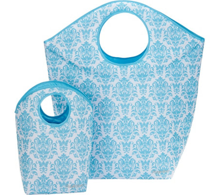 Pursfection Set of 2 XL and Small Multi-Purpose Totes