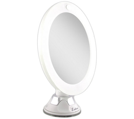 Zadro Led Lighted Power Suction Cup Mirror