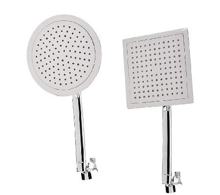 "HotelSpa 9"" Large Round or Square Rainfall Shower Head"